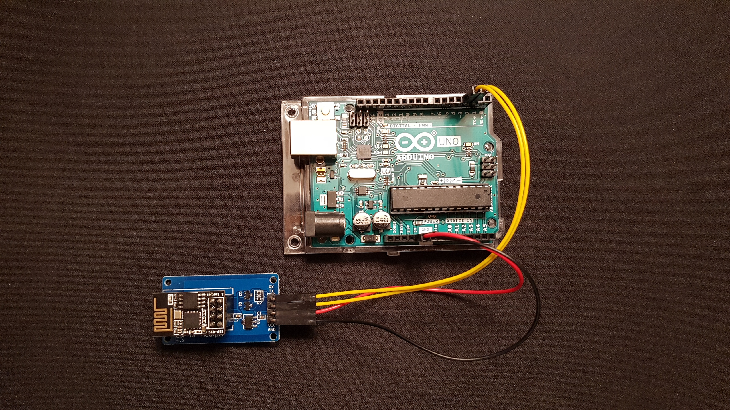 Picture of Connect Arduino Uno With ESP8266