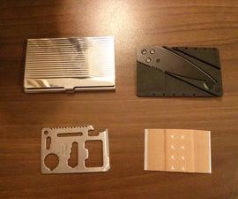 Nano Survival Kit in Business Card Case