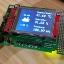 Weather monitor with Arduino MKR ENV shield