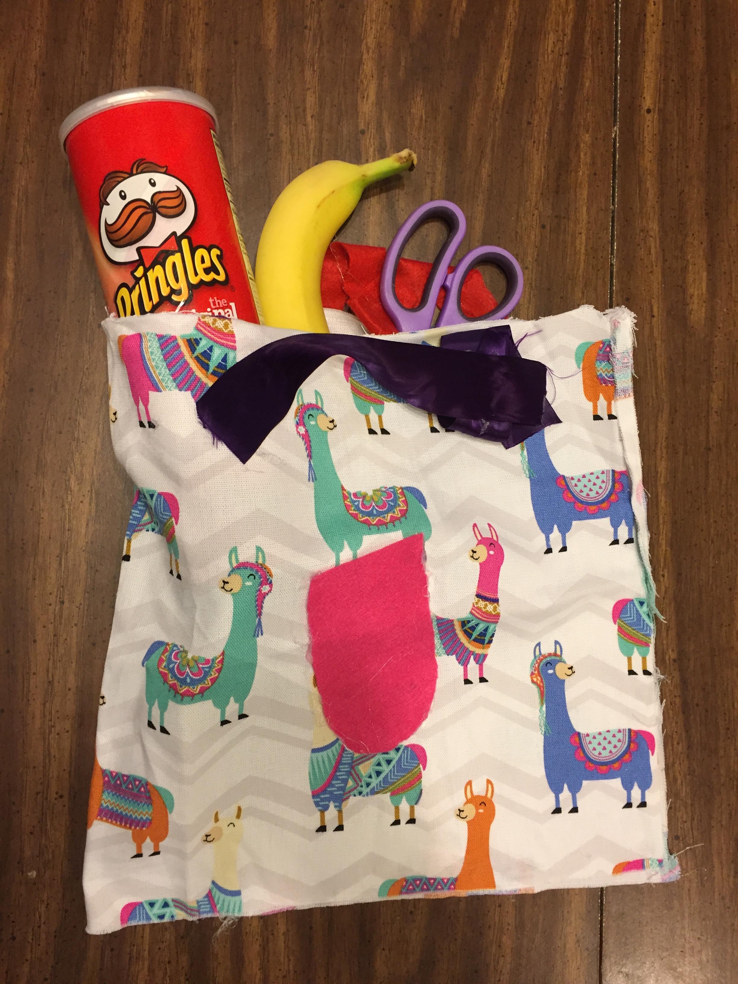 Picture of Scrap Fabric Bag-Easy DIY