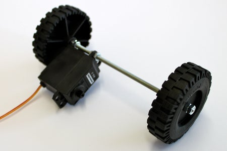 Front Axle and Wheels