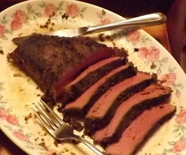 SOUS VIDE TOP ROUND (LONDON BROIL)