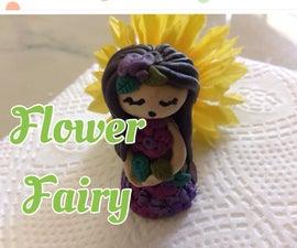 Clay Flower Fairy