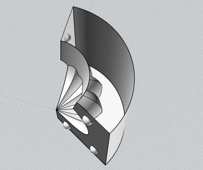 Picture of Make an Outline of the Mold Part