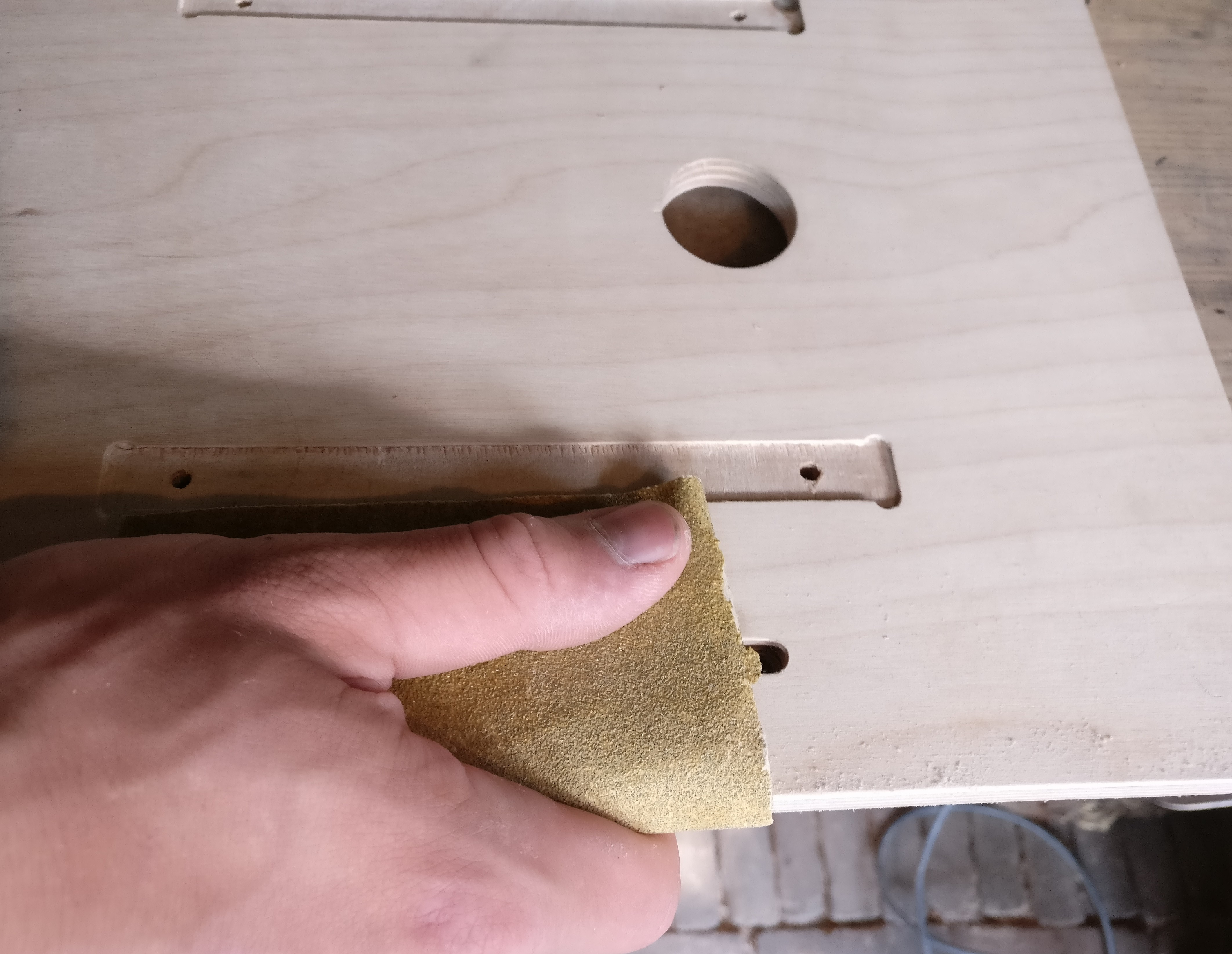 Picture of Sanding and Fitting