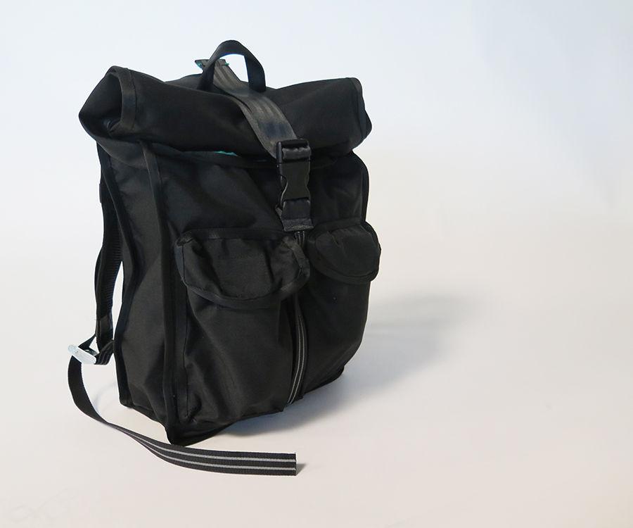 Messenger bag with front zipper pocket two side pockets 1000 D Cordura U.S Made
