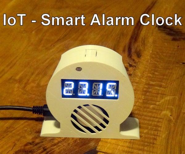IoT Smart Alarm Clock [Open Source Project]