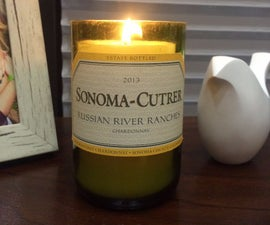 Transforming a Bottle into a Candle