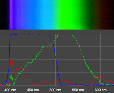 Illuminate the Sample and Record Its Spectrum