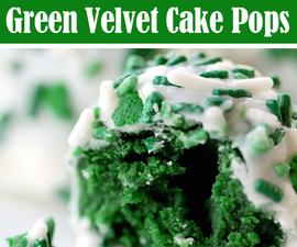 Green Velvet Cake Pops - Perfect for the St. Patrick's Day Season