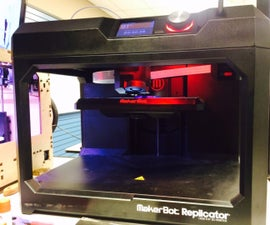 3D Printing Intro to Makerbot