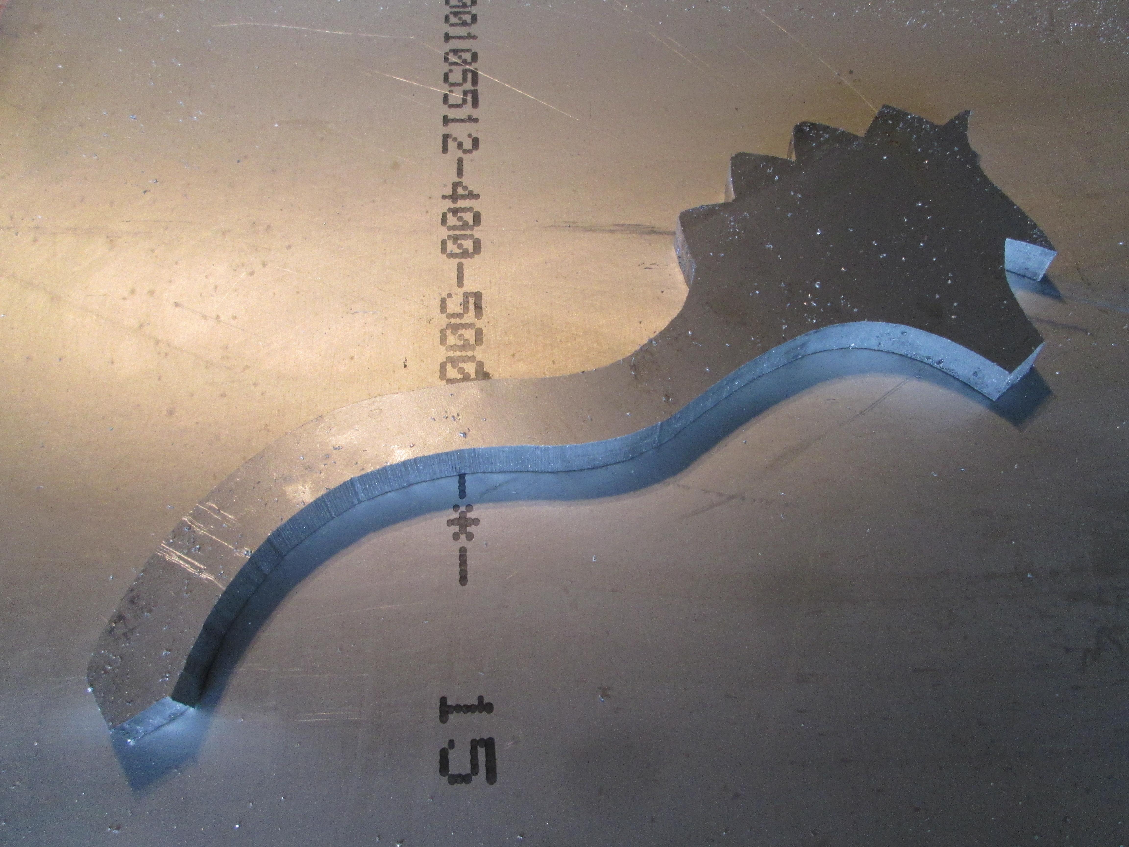 Picture of Cutting 20 Mm Aluminium