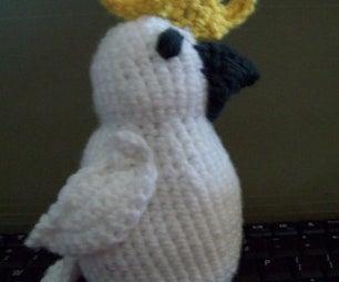 Single Crochet Cockatoo