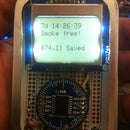 Mint-Sized Success Meter (quit smoking!) with Arduino