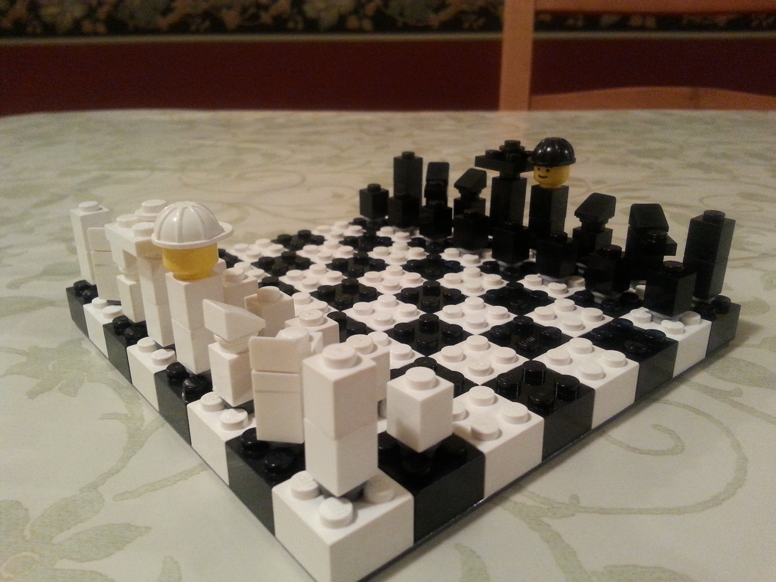 Picture of Lego Chess!