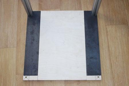 Bottom Plate and Aluminium Frame