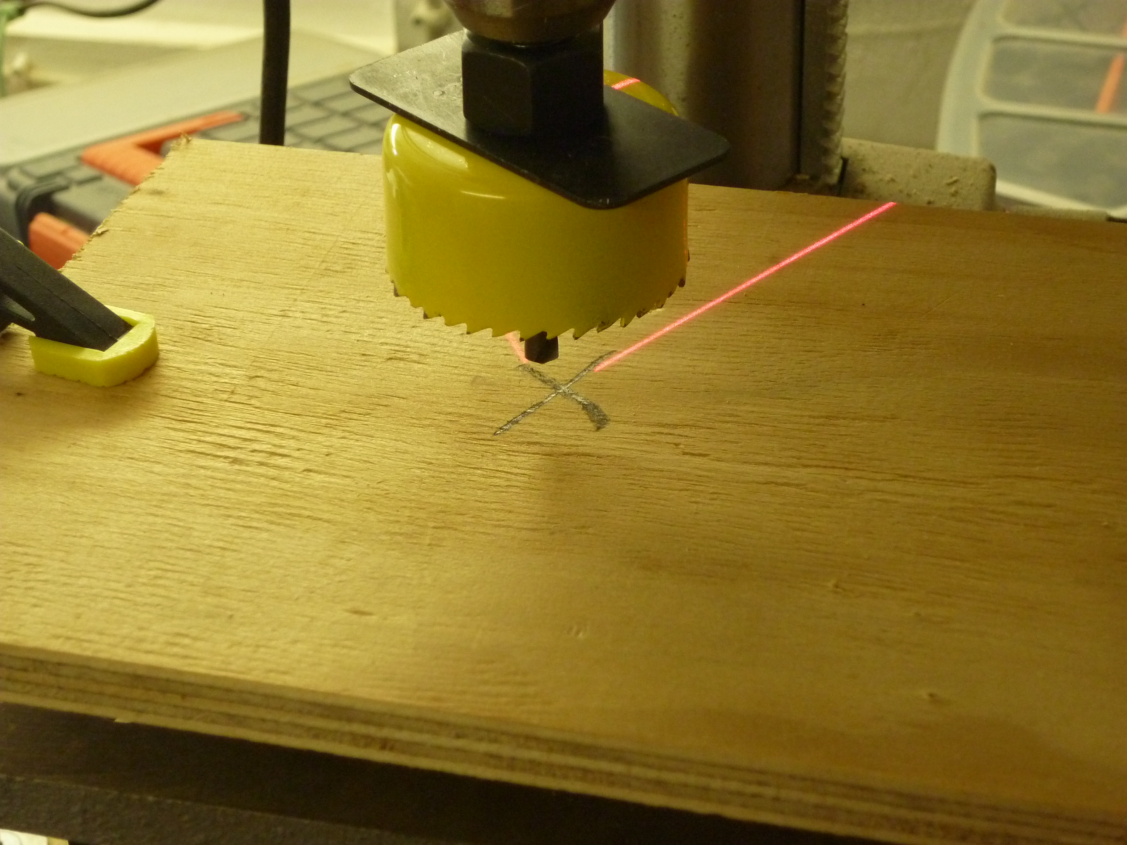 Picture of Cutting Wood for Holder