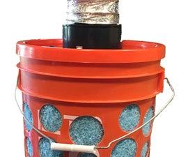 """""""Easy Mode"""" FIGJAM 5 Gallon Bucket Swamp Cooler"""