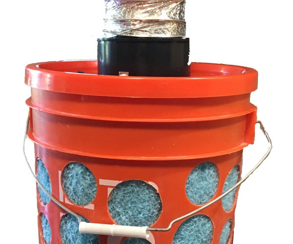 """Easy Mode"" FIGJAM 5 Gallon Bucket Swamp Cooler"