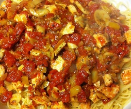 How to make Chicken Cacciatore - easy!