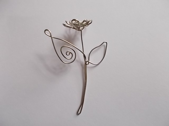 Picture of Flower Bookmark Version