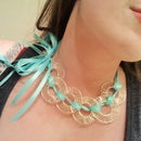 Instant Knotty Ribbon Necklace