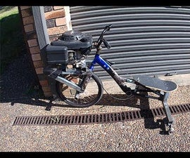 How to Build a Motorised Drift Trike Using a Lawnmower Engine