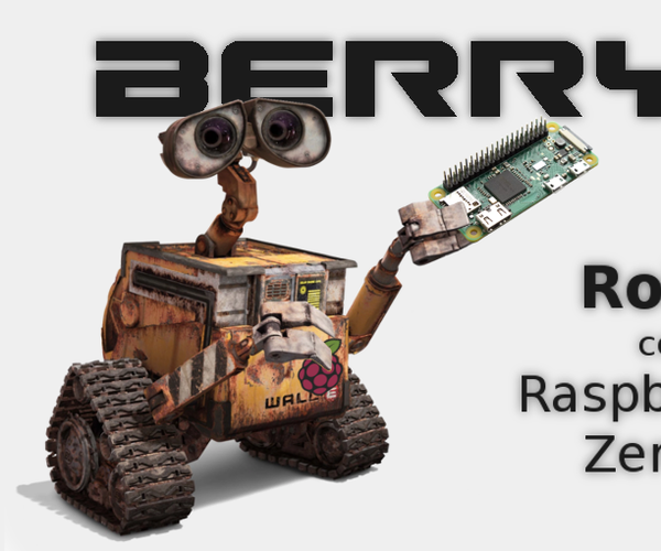 BerryE Raspberry Pi Robot With Camera and Smartphone Control