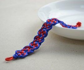 DIY macramé bracelet- Friendship bracelet designs for guys