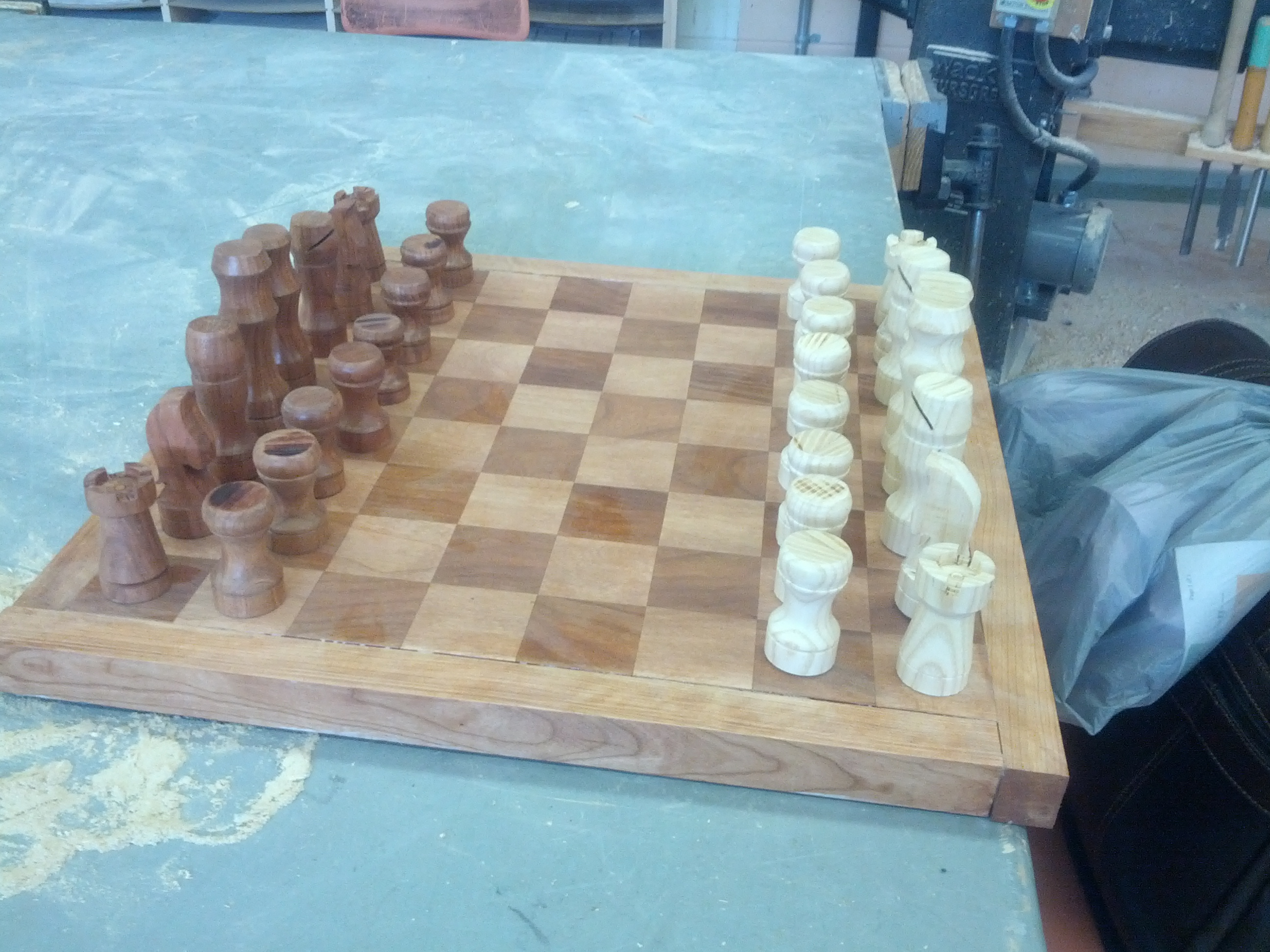 Picture of DIY Chess Board