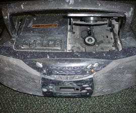 Adding a Line in to a Boombox With a Tape Player