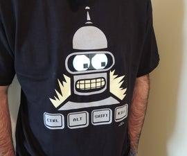 Bender moving eyes shirt