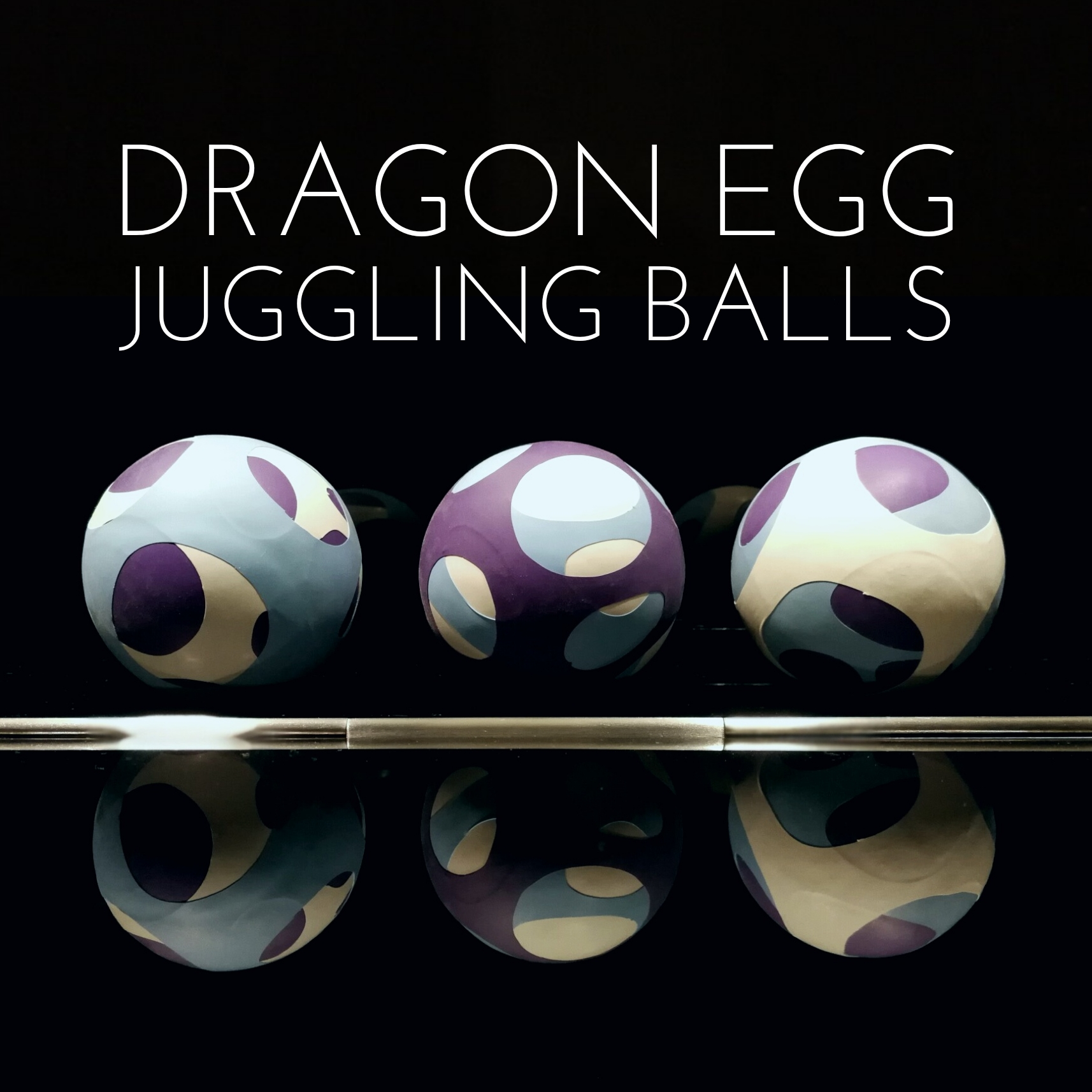 Picture of Dragon Egg Juggling Balls