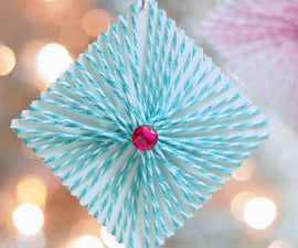 Square String Christmas Ornaments