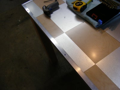 Drill Holes for Aluminum Angle