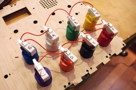 Solder the Buttons