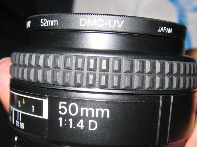 Picture of Put Filter on Lens