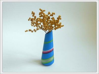 3D Printed Vase With Unusual Pattern.