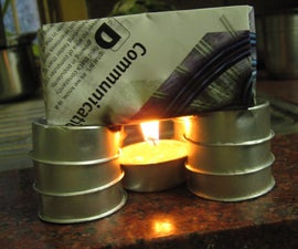 Boil Water or Cook Rice in an Origami Paper Box