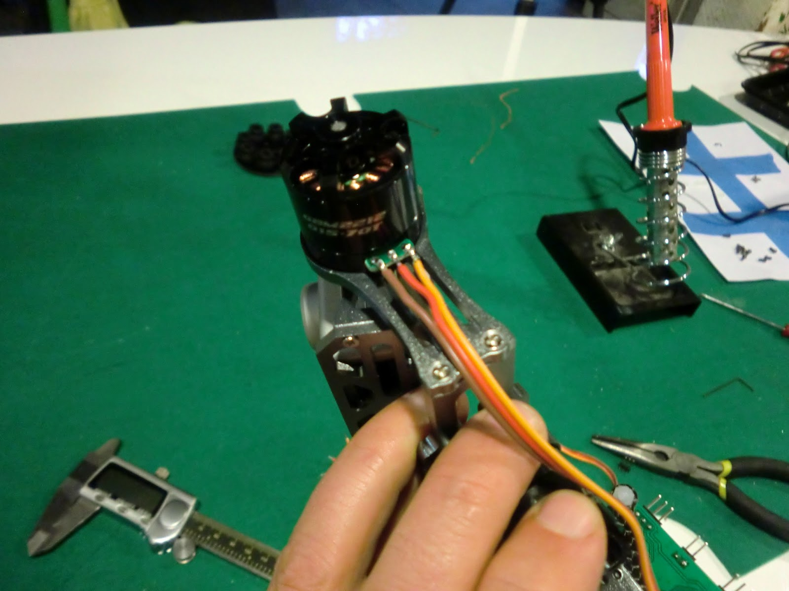 Picture of Solder the Motor Wires