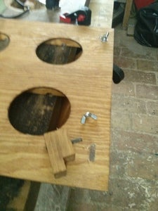 Cutting Slots for the Clamping Brackets