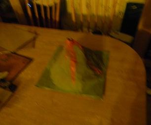 Model Volcanoe for Science Project
