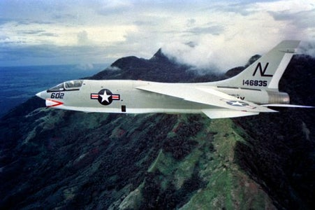 How to Make the Vought F-8 Crusader Paper Airplane