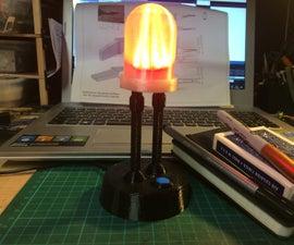 Giant LED - Tracking Adam Savage
