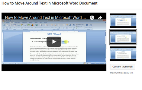 How to Move Around Text in Microsoft Word