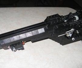 Lego Magnum rubberband gun