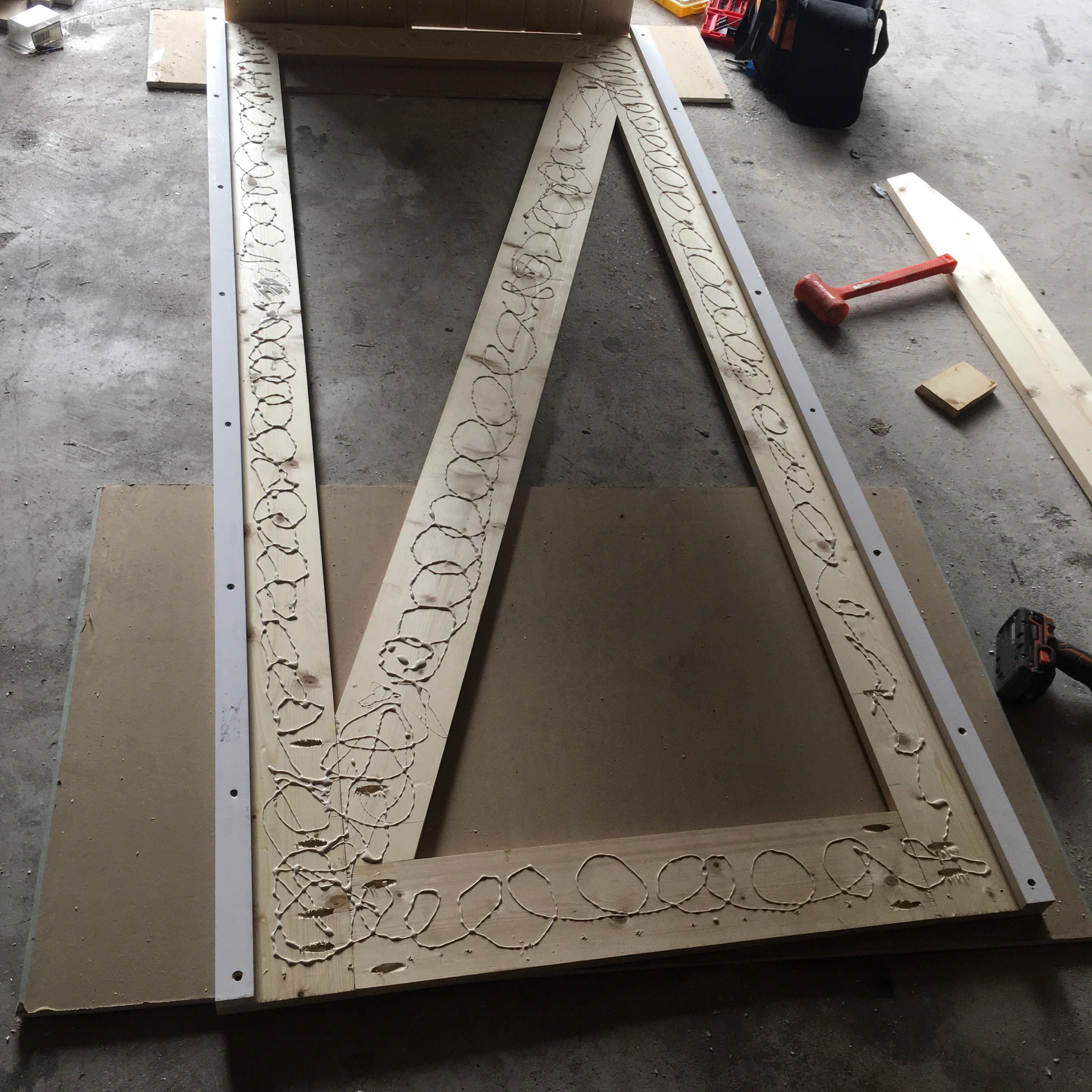 Picture of Permanently Secure All Backing Boards
