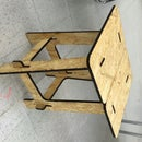 OSB stool