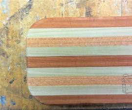 Easy Wood Cutting Board