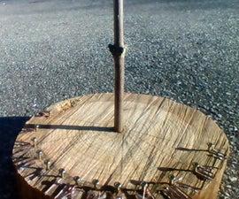 Stump Block Sundial